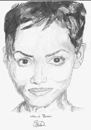 Halle Berry by Smidge